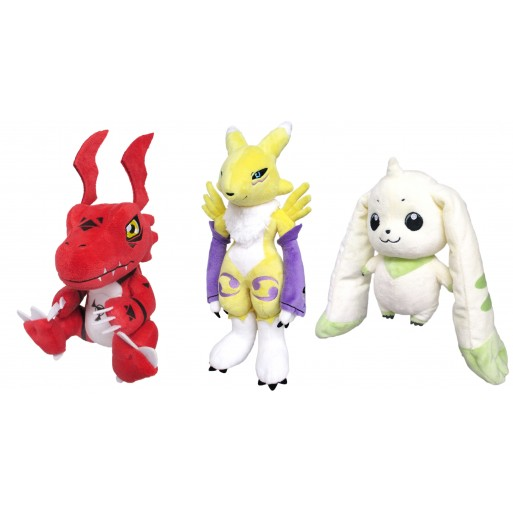 [PREORDER] Digimon Tamers Plushes