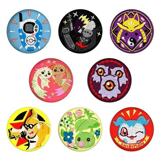 [PREORDER] Digimon Shop Part 3 Embroidered Brooches (Blind Box)