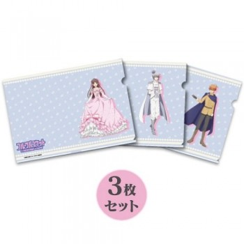 [PREORDER] Fruits Basket Princess Cafe Clear File Set