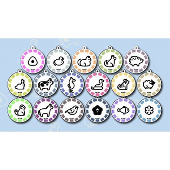 [PREORDER] Fruits Basket Princess Cafe Acrylic Charms (Blind Box)
