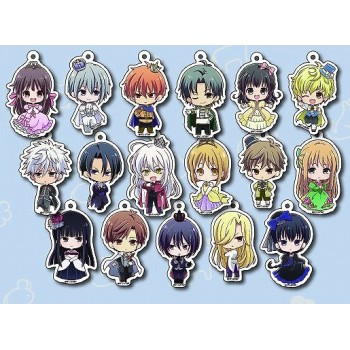 [PREORDER] Fruits Basket Princess Cafe Acrylic Keychains (Blind Box)