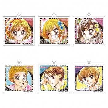 [PREORDER] Gals!! Square Keychains (Blind Box)