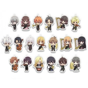 [PREORDER] Fruits Basket Princess Cafe Orchestra Keychains (Blind Box)