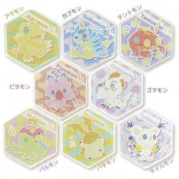 [PREORDER] Digimon Adventure: Honeycomb Magnets