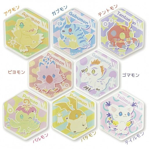 [PREORDER] Digimon Adventure: Honeycomb Magnets