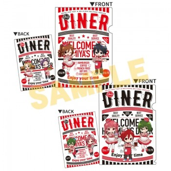 [PREORDER] Horimiya Diner Clear File Set
