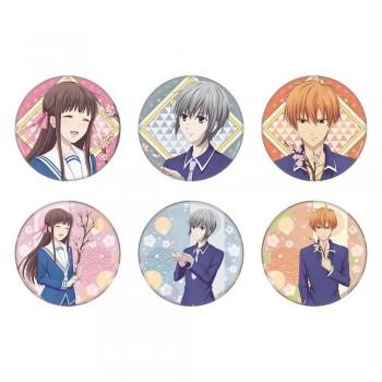 [PREORDER] Fruits Basket Pop-up Store Sakura Badges (Blind Box)