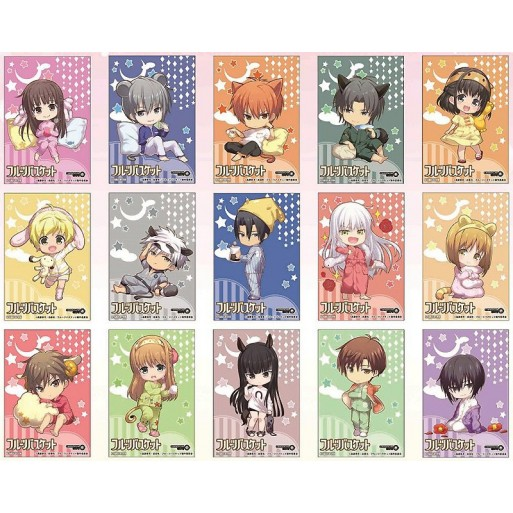 [PREORDER] Fruits Basket Charaum Cafe Cards (Blind Box)